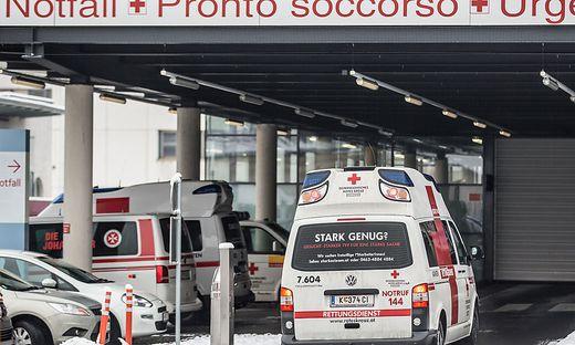 Die Frau wurde in das Klinikum Klagenfurt eingeliefert