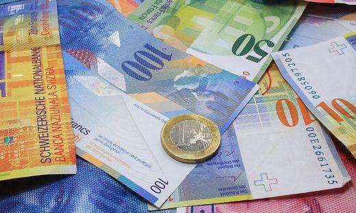 Mit Frankenkrediten sind viele Österreicher 2008 finanziell schlecht ausgestiegen