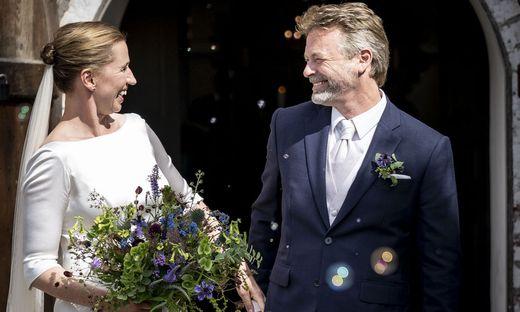 Mette Frederiksen und Bo Tengberg
