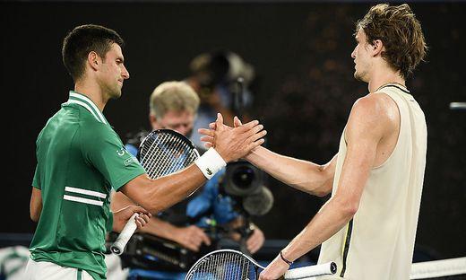 Novak Djokovic, Alexander Zverev