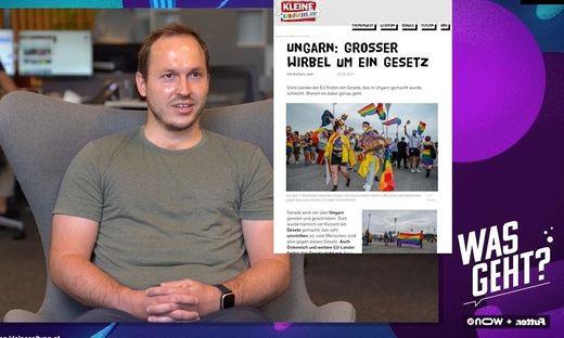 "Sport-Redakteur Daniel Jerovsek zu Gast bei ""Was geht?"""