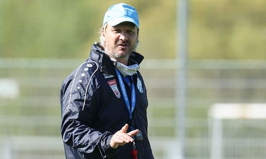 Trainer Markus Schopp sah am Mittwoch eine Niederlage seiner Mannschaft