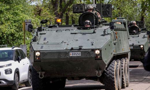 Belgische Soldaten suchen nach dem mutmaßlich rechtsextremen Berufssoldaten