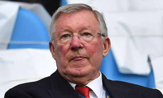 Not-Operation bei Alex Ferguson