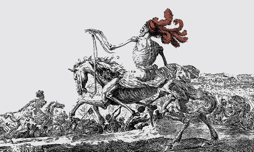 "Stefano della Bella: ""Der große Tod"" (1646/47)"