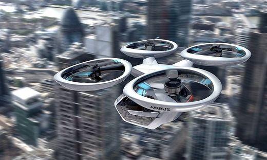 Ein Flugtaxi-Konzept von Airbus