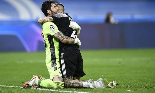 Die Fußballer von Sheriff Tiraspol lagen sich nach der Sensation in Madrid in den Armen