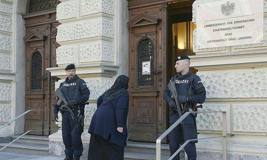 Seit 2016 gab es eine Reihe von Jihadistenprozessen in Graz.