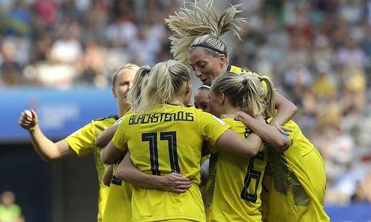 Fußball, Frauen, WM, Frankreich, Schweden