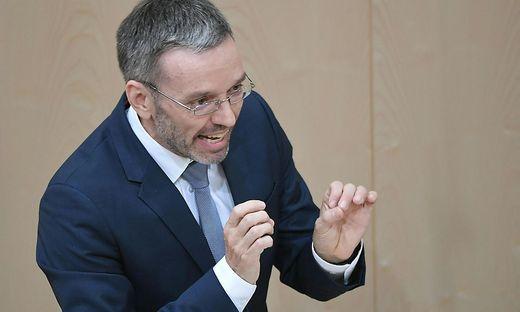 Ex-FPÖ-Innenminister Herbert Kickl, gemeinsam mit Norbert Hofer das neue Führungs-Duo de FPÖ