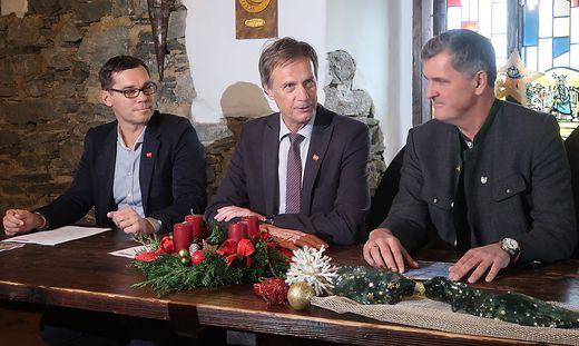 Markus Kamper, Fritz Kratzer und Harald Frager