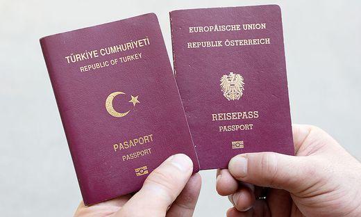 669 Türkische Staatsbürger haben den Pass Österreichs erhalten