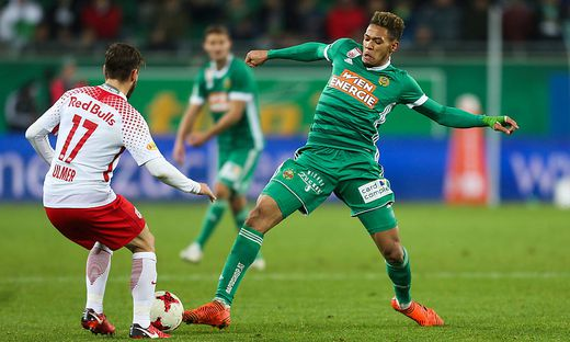 Rapid unterlag Salzburg 2:3