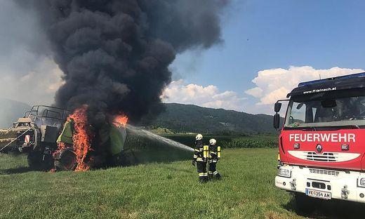 Drei Feuerwehren standen im Einsatz