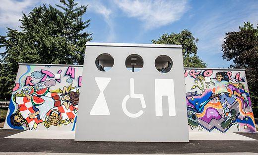 WC-Anlage Europapark Klagenfurt