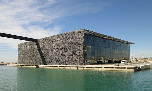 Ein Beispiel für schlanke, effiziente und ästhetisch ansprechende Betonbauweise: das Mucem in Marseille