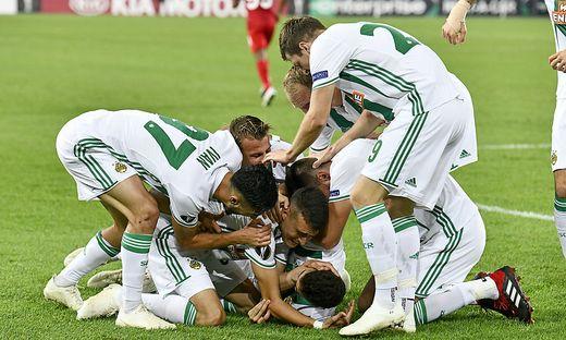 FUSSBALL UEFA EUROPA LEAGUE: SK RAPID WIEN - FC SPARTAK MOSKAU