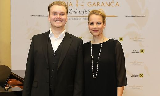 Alexander Grassauer mit Elina Garanca