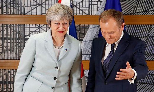 Brexit: Keine Einigung zwischen Juncker und May