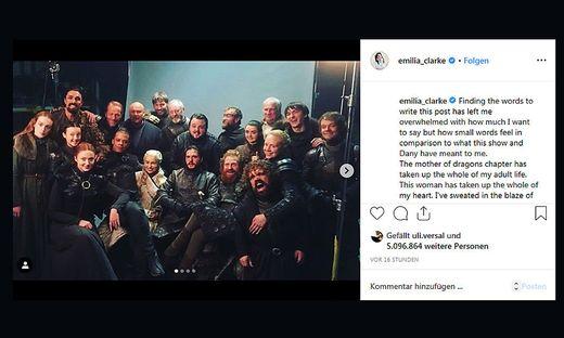 Emilia Clarke: Diese Frau hat mein ganzes Herz in Anspruch genommen
