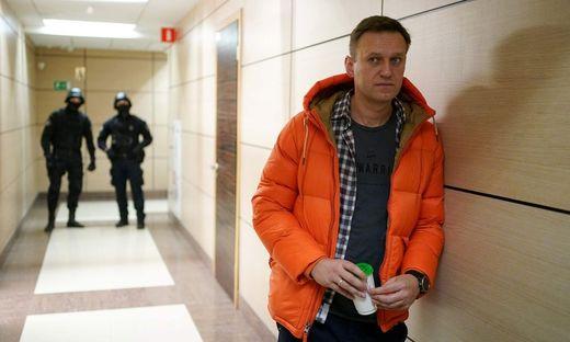 Riskante Rückkehr in die Höhle des Löwen: Alexej Nawalny