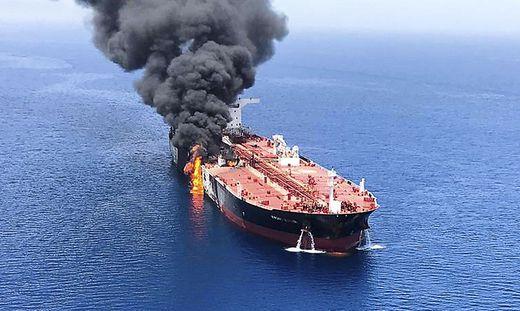 Einer der beiden Tanker