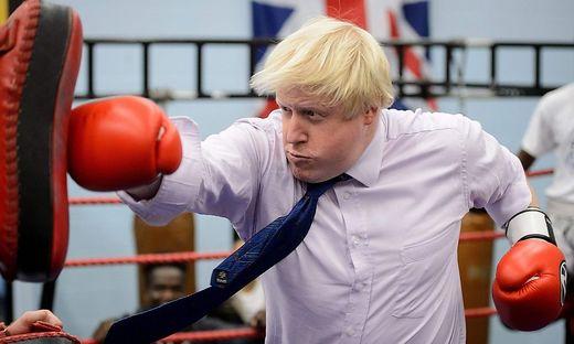 Harter Kampf: Johnson