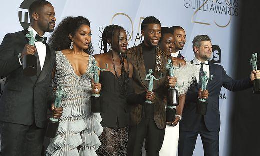 Sterling K. Brown, Angela Bassett, Lupita Nyong'o, Chadwick Boseman, Danai Gurira, Michael B. Jordan, Andy Serkis