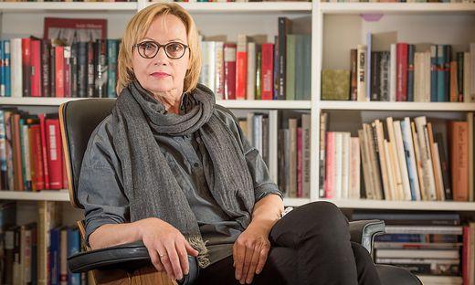 Die Vorarlberger Schriftstellerin Eva Schmidt