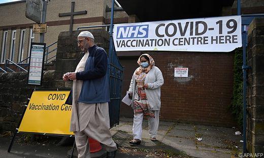 In Großbritannien breitet sich die indische Mutation aus