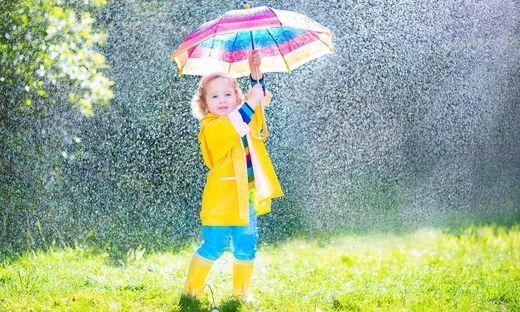 Regen und Sonnenschein - da Wetter wird am Wochenende durchwachsen
