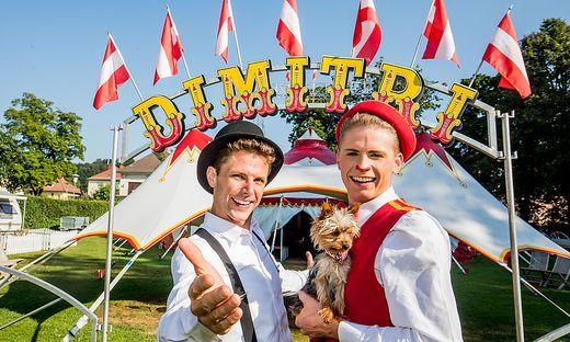 Dimitri und Leon: Die Brüder und ihr Zirkus