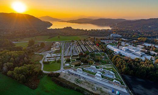"""Der Lakeside Park als """"wunderbarer Nukleus"""" sollte laut Klaus Pseiner Vorbild für weitere wissenschaftliche Kooperationen in Kärnten dienen – auch über die Grenzen hinaus"""