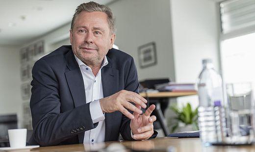 """""""Ich habe jedenfalls gezeigt, dass ich den ORF in schwierigen Zeiten führen kann"""", sagt ORF-General Alexander Wrabetz"""
