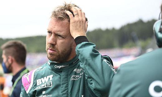 Sebastian Vettel zeigt sich nicht begeistert