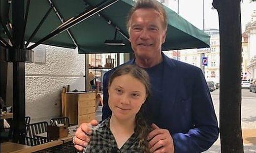 Arnie und Greta