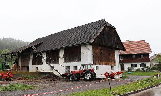 Auf diesem Hof in St. Nikolai wurden die verendeten Rinder  und Kälber entdeckt