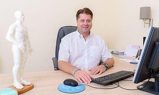 Frank Bolvari betreibt eine Arztpraxis in Wolfsberg