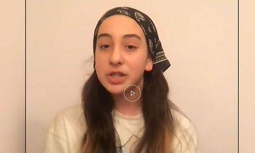 Die zwölfjährige Tina im Telefon-Interview
