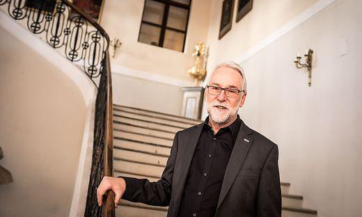 Josef Marketz im Bischofshaus