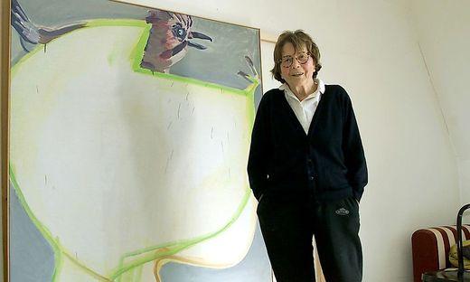 ARCHIVBILD: MALERIN MARIA LASSNIG