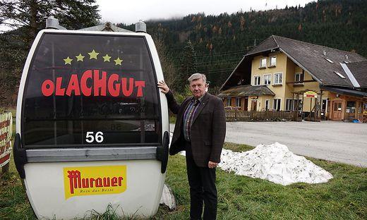 Heimo Feiel führt seit 30 Jahren das Olachgut, nun lenkt er auch die Geschicke des Tourismusverbandes