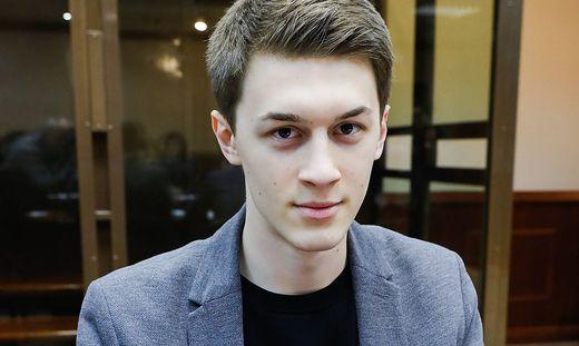 Jegor Schukow war mit seinem Video-Blog bekannt geworden