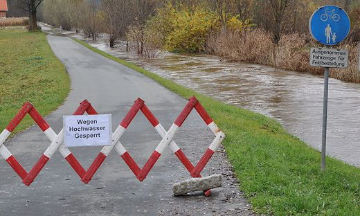 Radweg an der Glan bleibt bis auf weiteres gesperrt