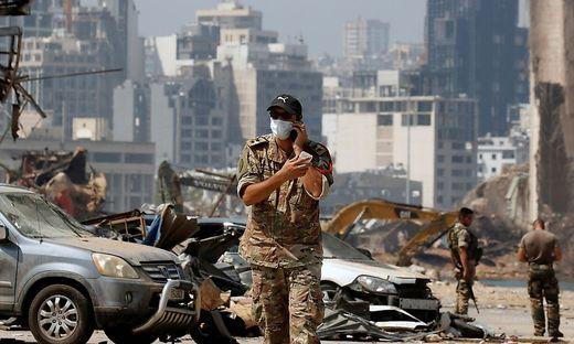 Beirut: Wiederaufbau und Reformen stocken
