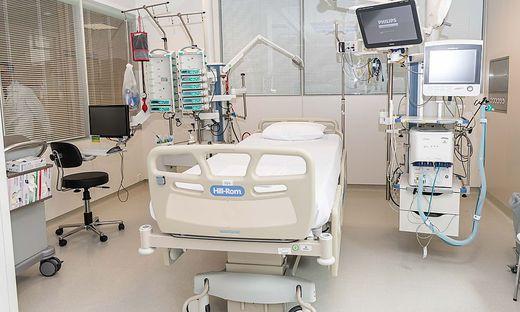 Derzeit liegt die Auslastung der Intensivbetten in Kärntens Spitälern bei 57 Prozent.