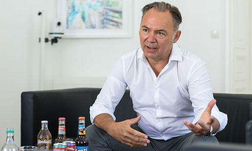 Gerhard Schilling Gechäftsführer Almdudler