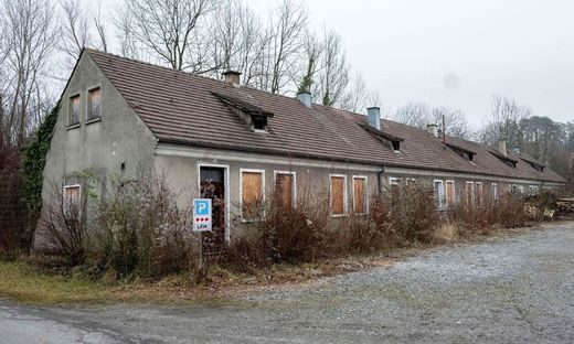 Das Kommandohaus im KZ Gusen