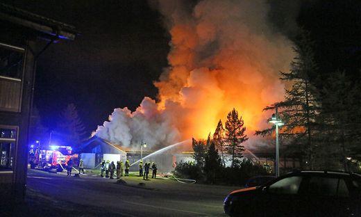 Feuer in Schule in Berchtesgaden
