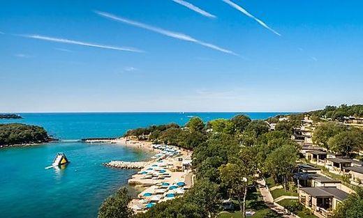 Kroatien - hier ein Valamar-Campingplatz in Istrien - ist derzeit sehr gut gebucht
